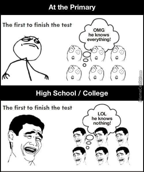 School Logic Vs Highschool Logic