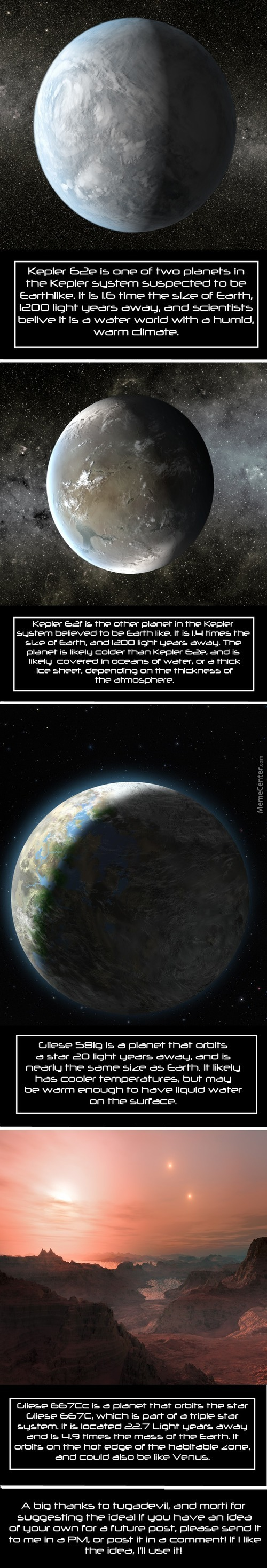 Science Porn: Earth Like Exoplanets