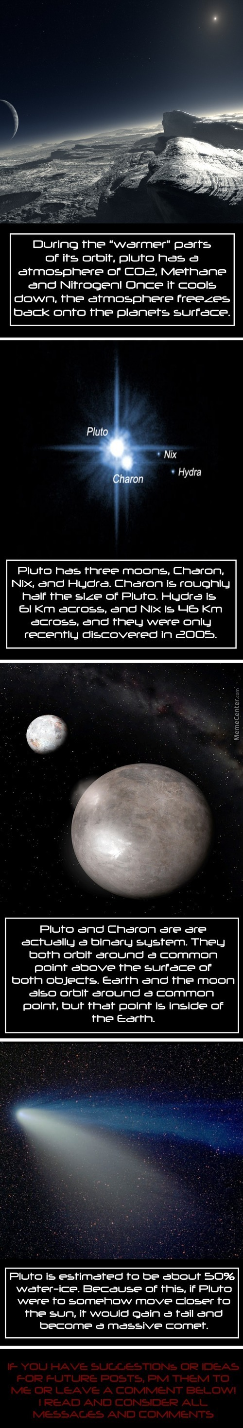Science Porn: Pluto Facts