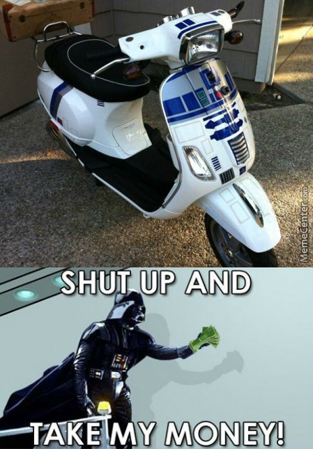 Scooter R2D2