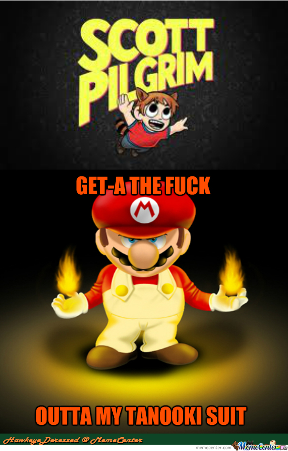 Scott Pilgrim Vs. Mario