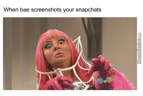 Screenshots Be Like
