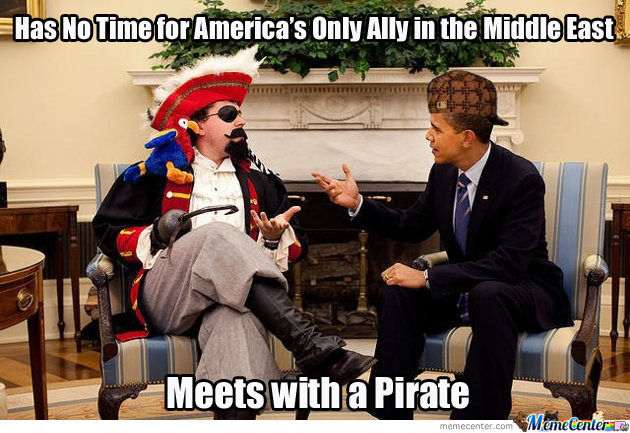 Screw The Jews, This Guys Is A Pirate!