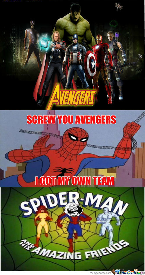 Screw You Avengers