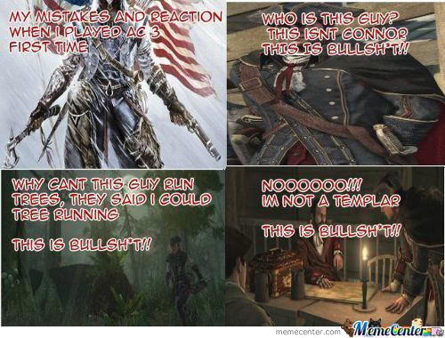 Scumbag Assassins Creed 3