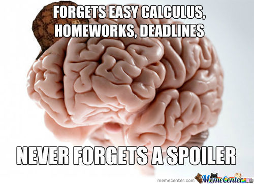 Scumbag Brain Is Black!... I Mean Back!