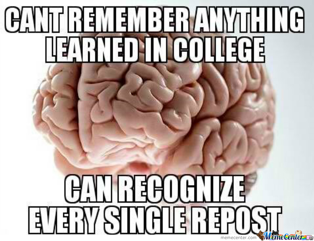 Scumbag Brain On The Internet