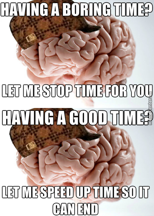 Scumbag Brain Or Scumbag Self?