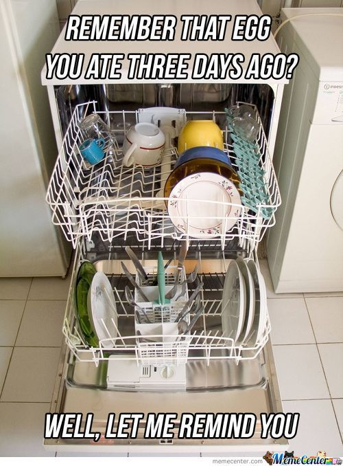 Scumbag Dishwasher