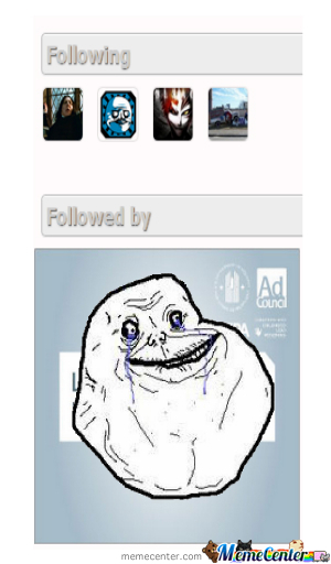 Scumbag Forever Alone