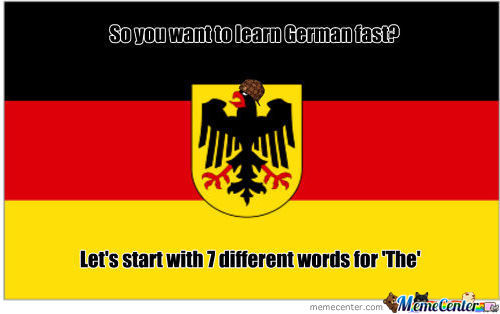 Scumbag German Language