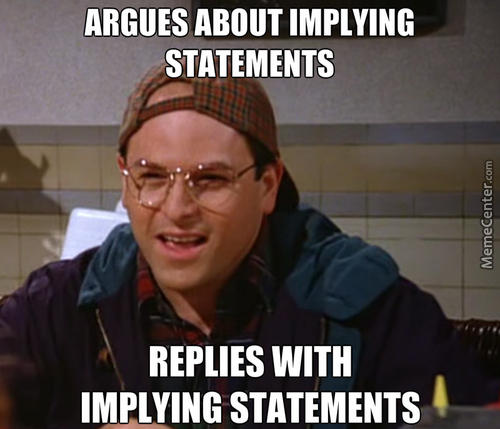 Scumbag Implying Costanza