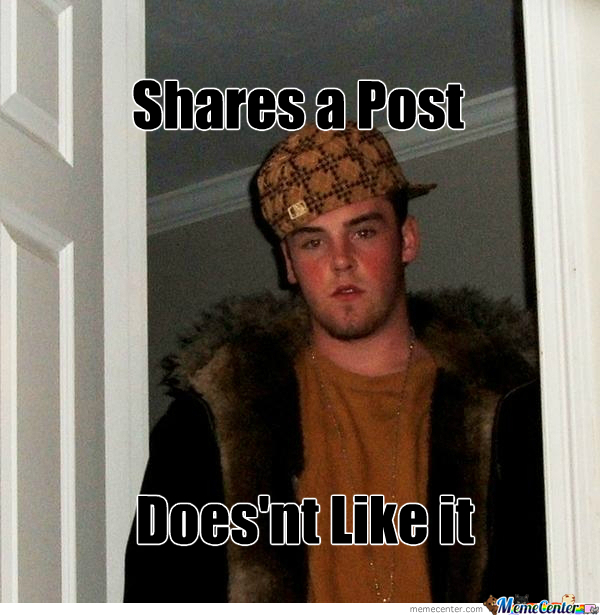 Scumbag, Indeed.