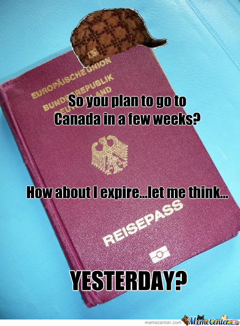 Scumbag Passport