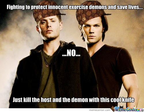 Scumbag Sam And Dean