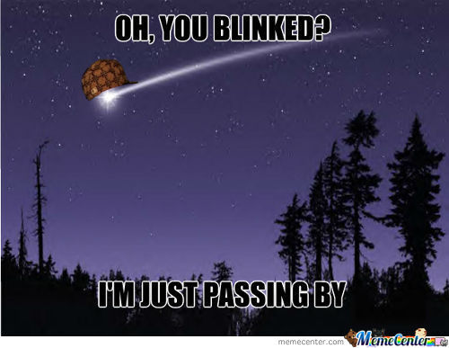 Scumbag Shooting Star
