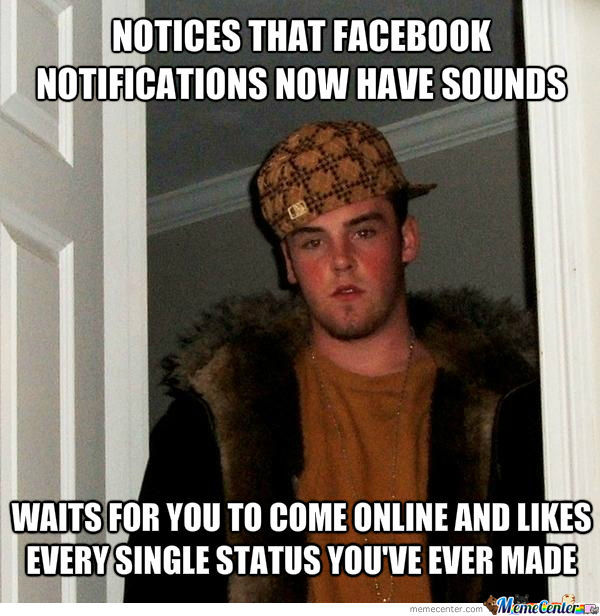 Scumbag Steve On Facebook