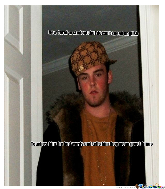 Scumbag Steve Strikes Again