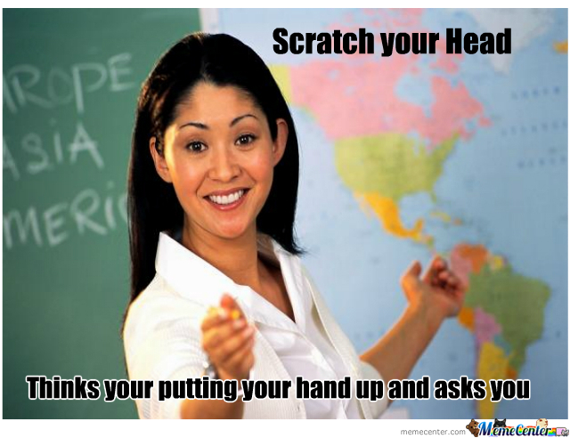 Scumbag Teacher Strikes Again!