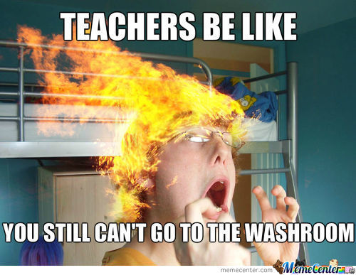 Scumbag Teachers!