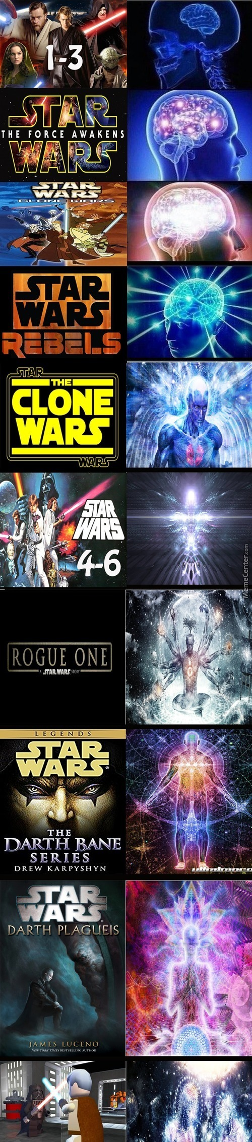 Search Your Feelings, You Know It To Be True