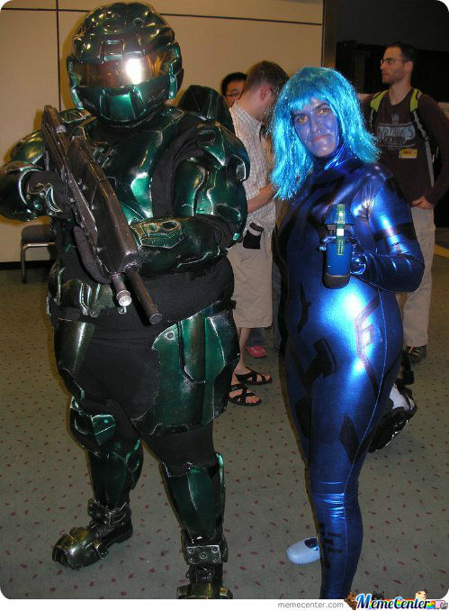Seems Like The Armor Have... Expanded A Tad Bit, Huh, Masterchief?