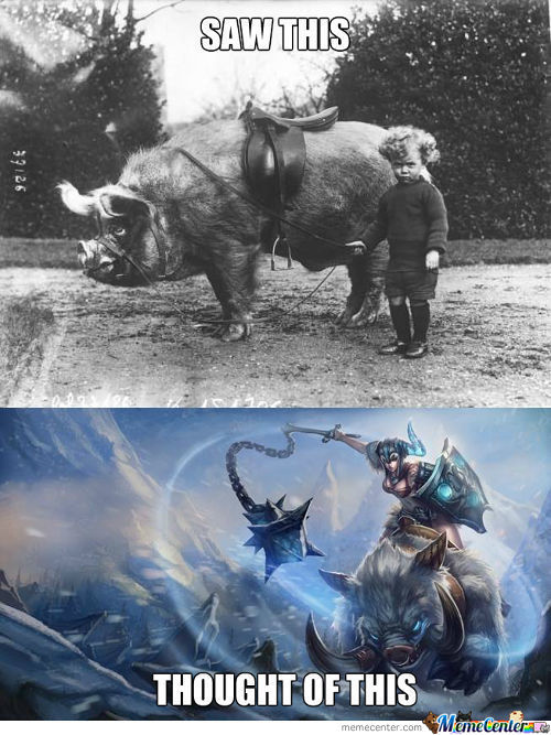 Sejuani's Early Years.