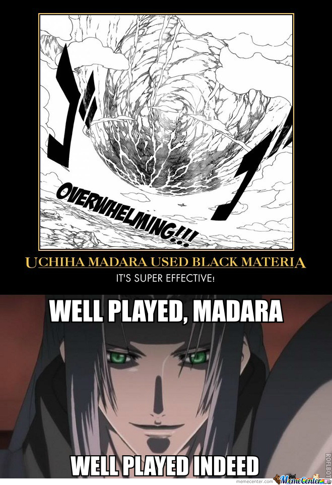 Sephiroth And Madara Xd