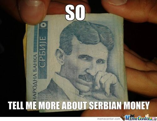 Serbian Money