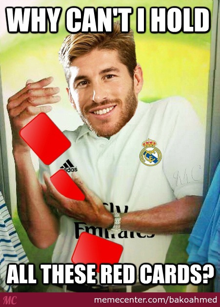 Sergio Ramos Be Like: