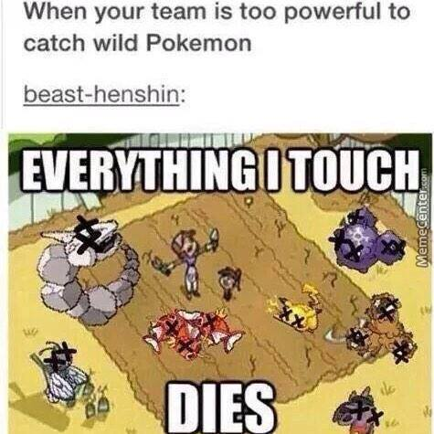 Seriously Especially When You Wanna Catch Legendaries!!!!!