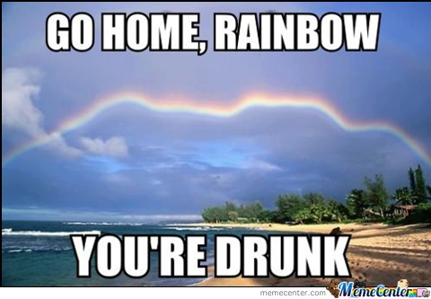 Seriously Rainbow...