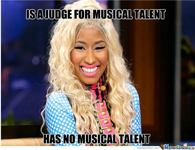 is a judge for musical talent