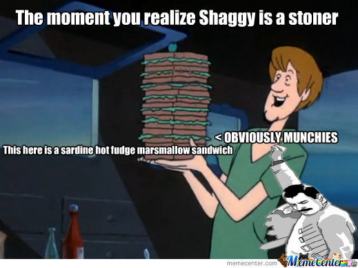 Shaggy Is A Stoner Maaaaan