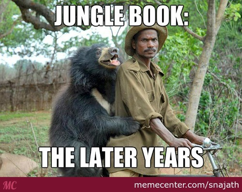 Shame On You If You Havents Seen 'the Jungle Book'
