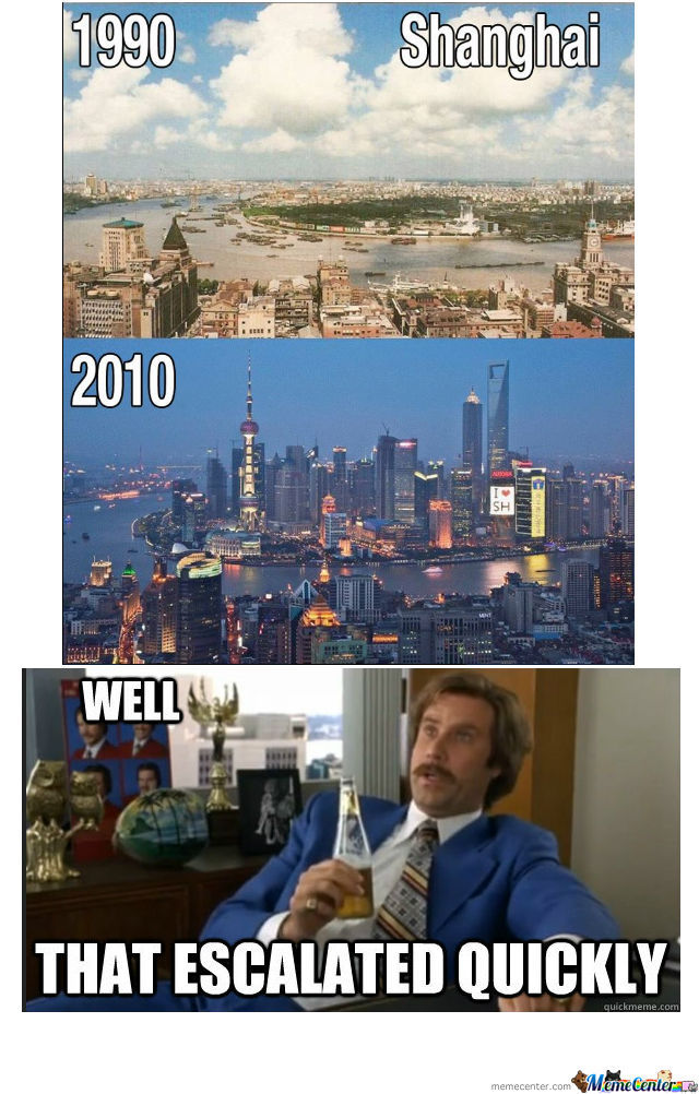 Shanghai Escalated Quickly