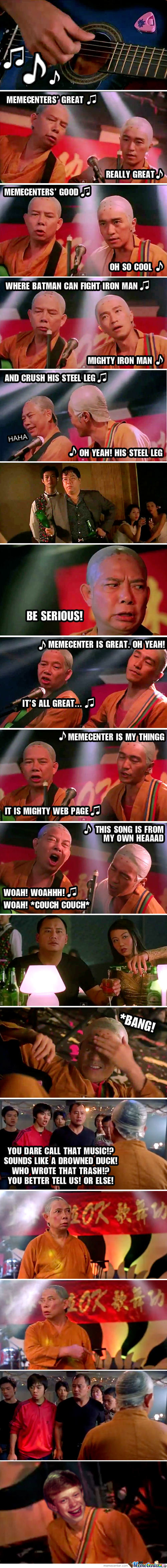Shaolin Soccer Memecenter Song