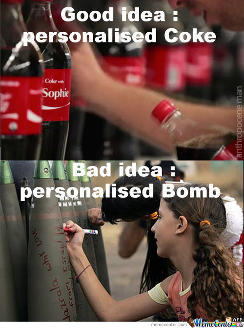 Share A Bomb With...