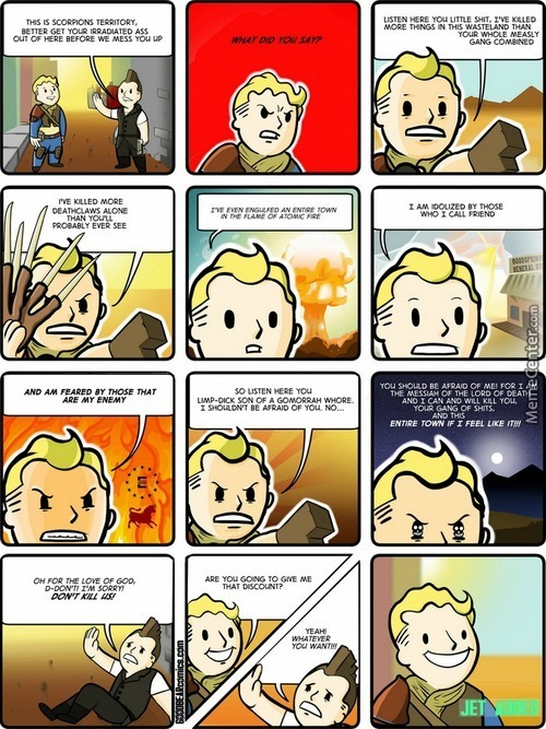 Sharing One Of My Favorite Comics About Fallout