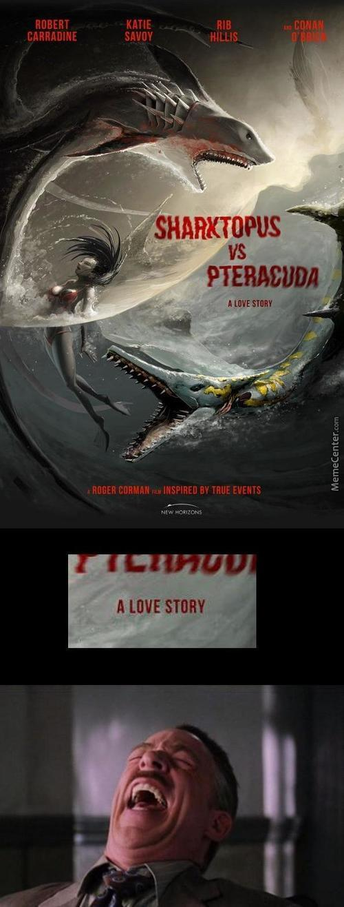 Sharktopus Vs Pteracuda Because, I Dont Know