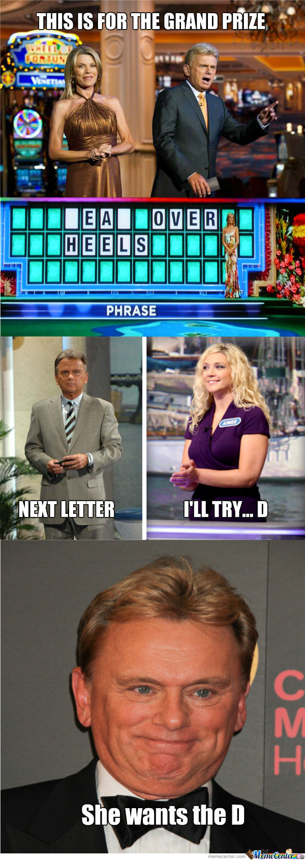 She Wants The D (5) - Wheel Of Fortune