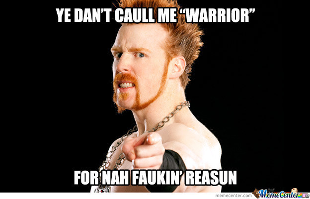 Sheamus' English