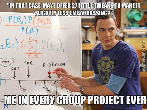 Sheldon Cooper And Group Projects
