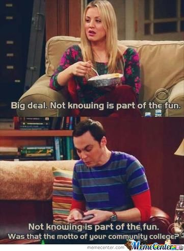 Sheldon Cooper Strikes Again!!!!