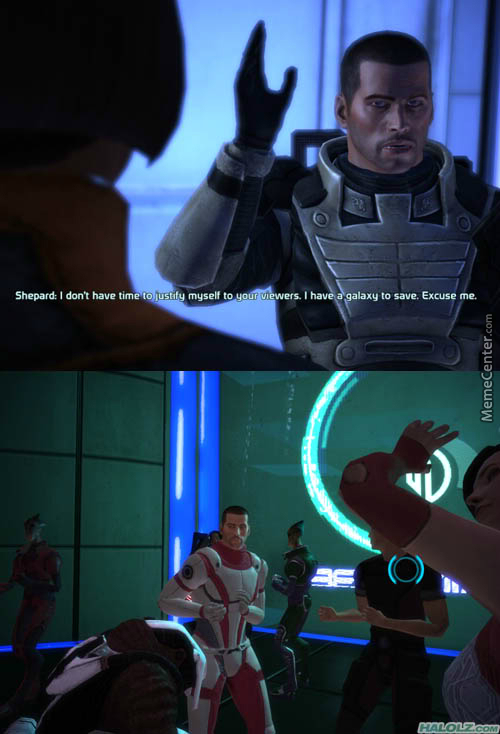Shepard Has Important Business To Attend To