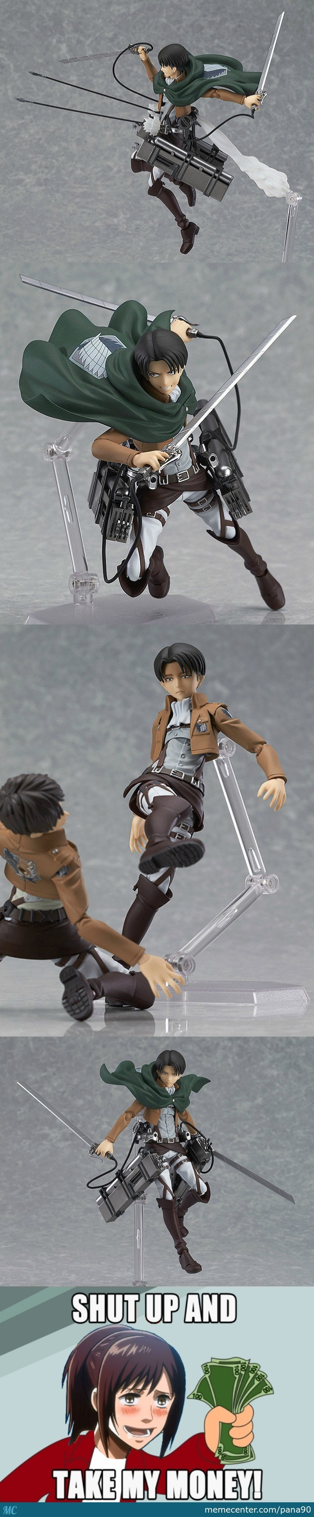 Shingeki No Kyojin Figurines (Credit To Zain.mustafa.399)