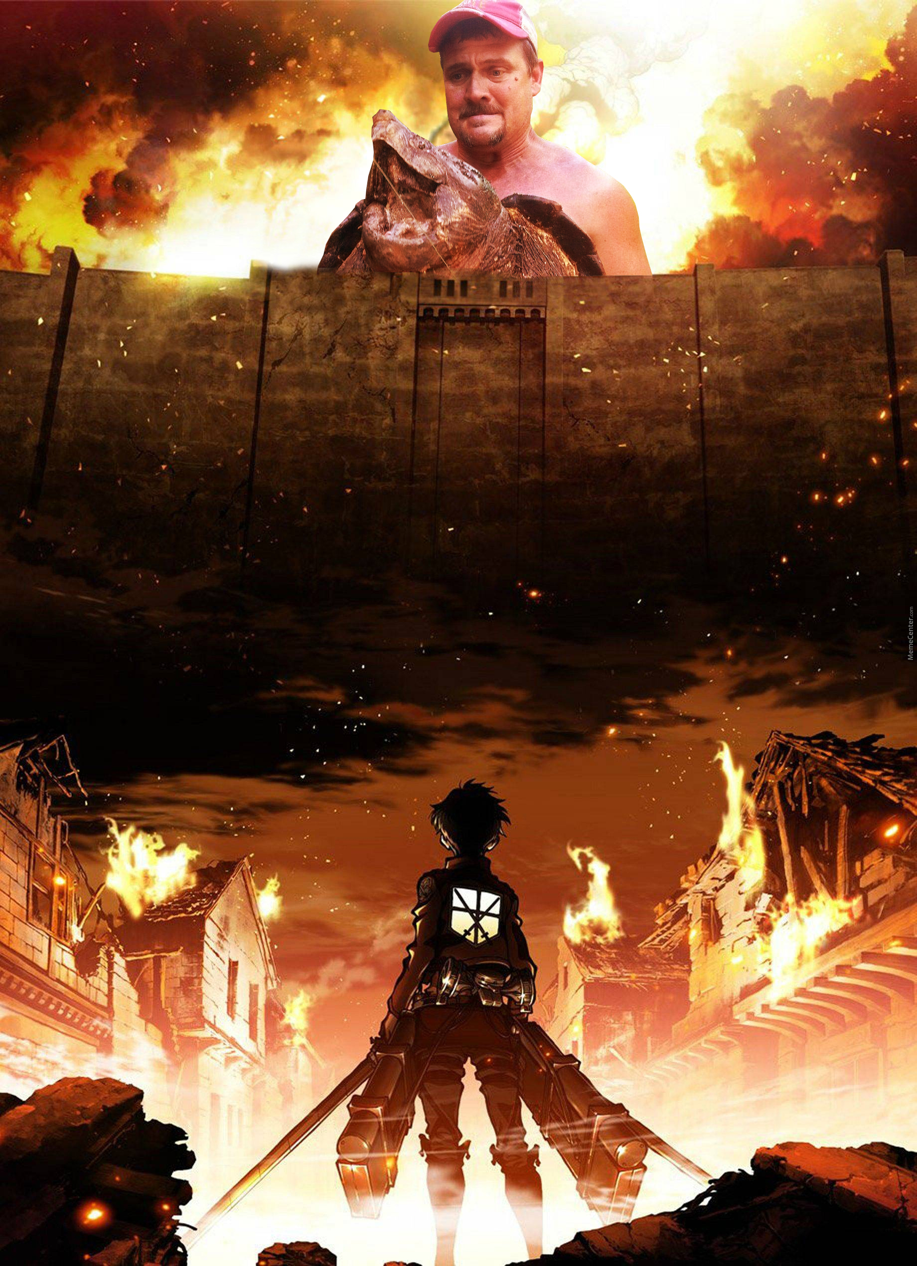 Shingeki No Snapping Turtle