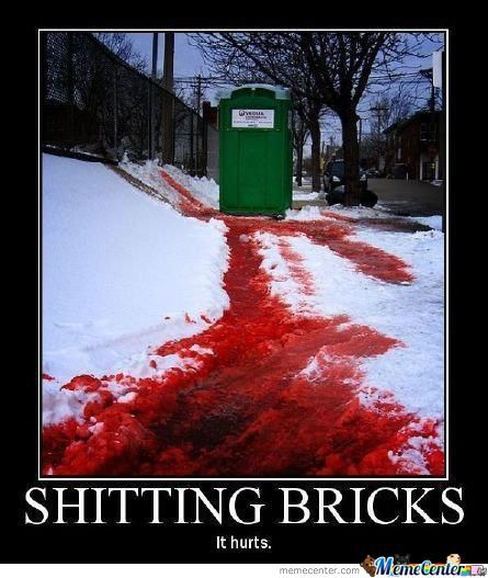 Shitting Bricks