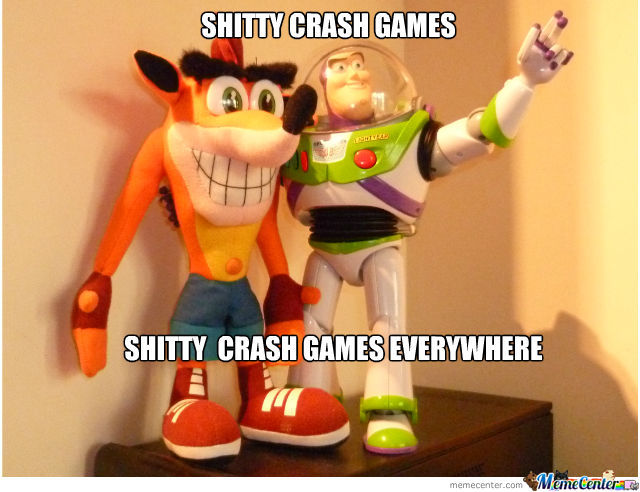 Shitty Crash Games
