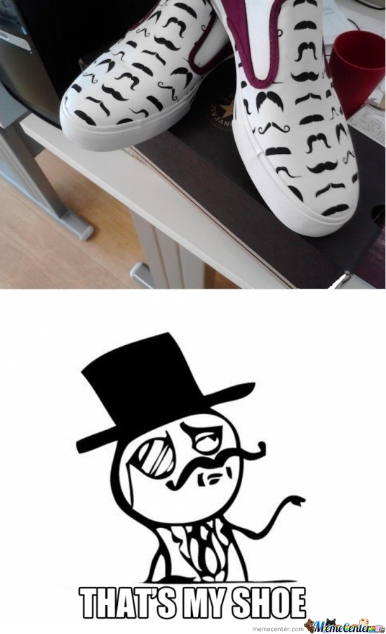 Shoe Like A Sir.